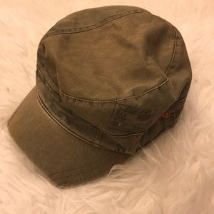 G-Star Raw Military style cap in Olive